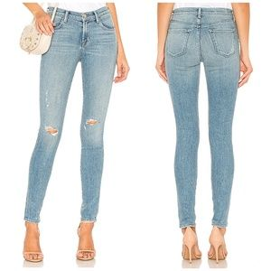 J Brand Super Skinny Mid-Rise Jeans Surge Destruct